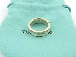 Authentic TIFFANY & CO Sterling Silver 1837 Ring Size 5.75 - $93.20