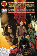 Star Trek: Deep Space Nine Comic Book #5 Malibu Comics 1993 VERY FINE+ - $3.25