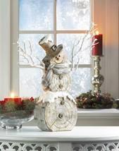 Twig Lights Snowman Statue Holiday Figurines Christmas - $58.41