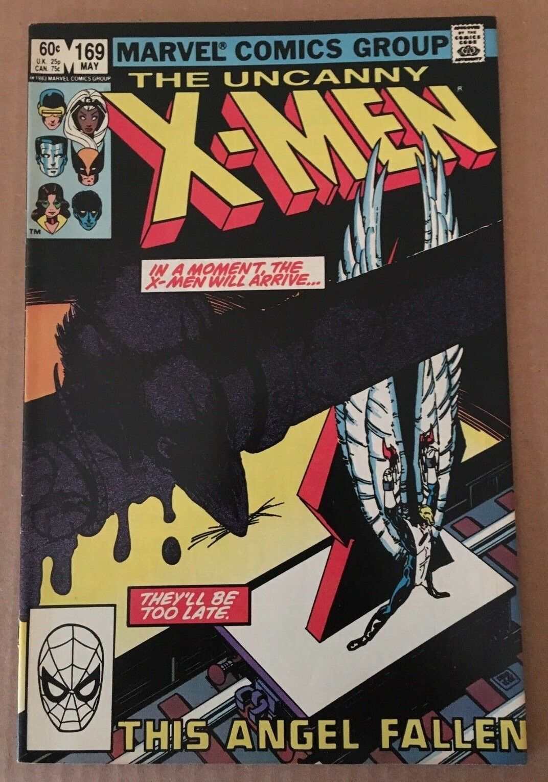 Uncanny X-Men #169 Marvel Comic Book from 1983 VF+/NM Condition 1ST MORLOCK