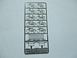 Gold Medal Models # 160-28 Bicycles and Bike Racks  N-Scale image 1