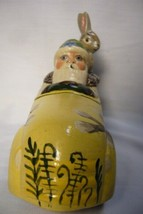 Vaillancourt Folk Art Spring Santa in Car with Rabbit personally signed by Judi image 2