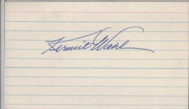 KERMIT WAHL Auto/Autograph 3x5 Index Card Reds/Athletics Browns (1922-1987) - $8.96