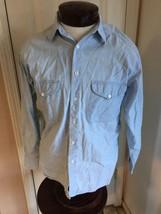 Levi's Diamond Label Stonewashed Denim Shirt Men's S - £18.88 GBP