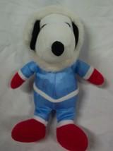 "Peanuts SNOOPY IN WINTER SNOWSUIT 8"" Plush Stuffed Animal - $14.85"