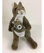 "K&M Kangaroo Mom and Baby Joey Plush Stuffed Animal Toy Vintage 12"" Mars... - $24.70"