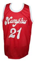 Larry finch memphis sounds aba retro basketball jersey red   1 thumb200