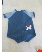 Carter's Blue Bodysuit With Dog Size 0-3 Mos - $4.99