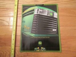 John Deere GT GX Lawn Garden Tractor tractors Vintage Dealer sales brochure - $14.99