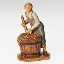 "Roman Fontanini 5"" Dionysius Pressing Grapes Christmas Nativity Figurine - $24.26"
