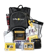 Life+Gear LG492 Day Pack Emergency Survival Backpack Kit - $68.64