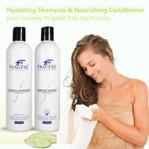 FRAGFRE Shampoo Conditioner Set - Fragrance Free Hypoallergenic Sulfate Free Set - $29.98