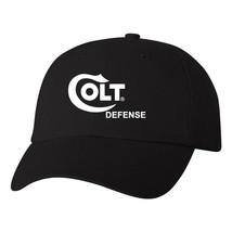 Colt Defense Logo Flexfit Fitted Hat Pro Gun Stretch Fit Cap Rifle Pisto... - $16.99