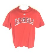 Majestic Men's Angels Red T-Shirt L - $14.84