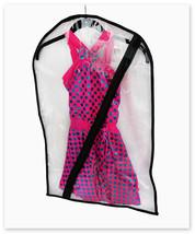 Dance Costume Bag - Children's Garment Bag for Dance - Clear - $10.95