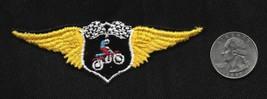 Vintage 60-70 Motorcycle Wings STUNT Bike Rider Stunting Racing Collecto... - $5.28