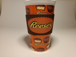 Reeses Peanut Butter Cup Ceramic Coffee Mug with Silicone Grip - $12.87