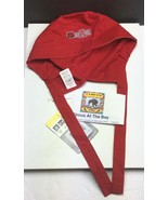 NC State Wolfpack NCAA / Wonder Work / Red Surgery Chemo Scrub Hat Cap D... - $14.13