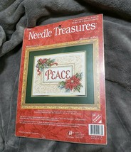 Needle Treasures Message of Peace Christmas Counted Cross Stitch Kit 02987 NEW - $32.70