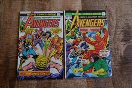 Avengers #133 134 (Marvel 1975) Vision Origin Bronze Age VF - $28.94