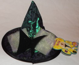 NWT Dog Witch Hat Halloween Costume Accessory Rubie's Sizes S/M or M/L Pet - £6.82 GBP