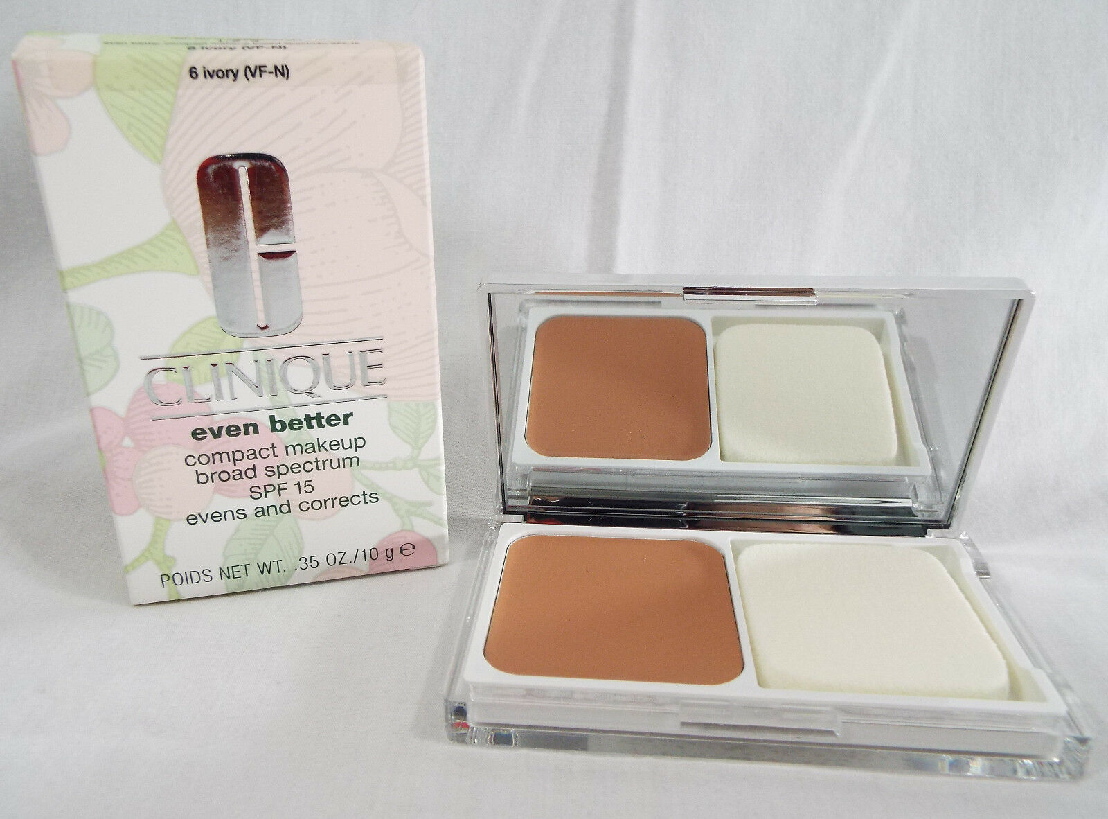 Primary image for Clinique Even Better Compact Makeup SPF15 in Ivory 6 VF-N Discontinued