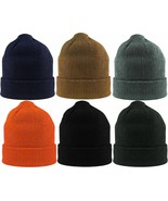 Knit Acrylic Military Watch Cap USA Made Winter Hat - $7.99