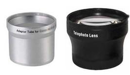 Bundle TelePhoto Lens + LA-DC58B Tube Adapter for Canon Powershot G5 G3 - $21.55
