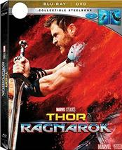 Thor Ragnarok (Steelbook) [Blu-ray + DVD]