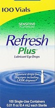 Allergan Refresh Plus Lubricant Eye Drops Single-Use Vials - d5ig 2Pack ... - $99.89