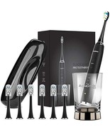AquaSonic Black Series Pro Ultra Whitening 40,000 VPM Rechargeable Electric - $77.31