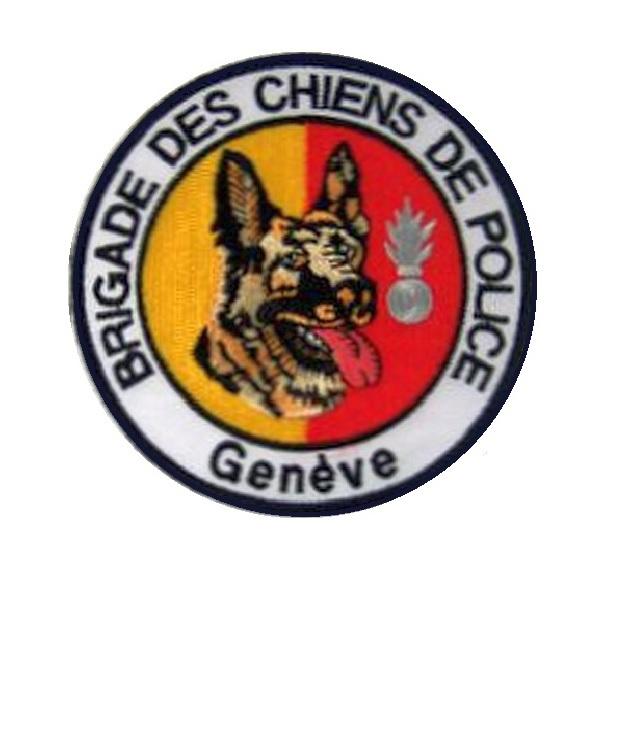 Mte de geneve brigade canine switzerland geneva county police k9 canine unit patch 4 x 4 in 9.99