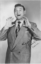 "Autographed Photo Frankie Lane C1950, ""Rawhide"" Vocalist ~Nice - $36.00"