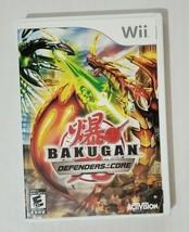 Bakugan Defenders Of The Core ( Nintendo Wii,2006 ) - $4.05