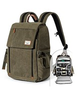 Camera Backpack Zecti Waterproof Canvas Professional Camera Bag for Lapt... - $77.02