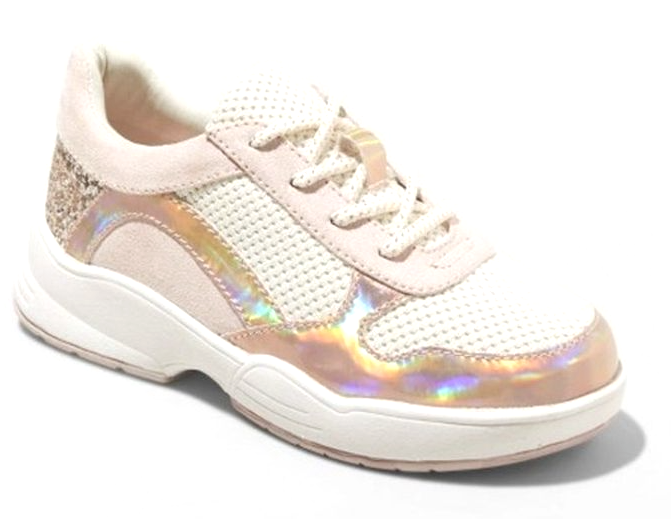 Art Class Girls' Blush Pink Pepper Sneakers Shoes Size 1 US NEW