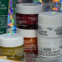 Kiehl's MIDNIGHT RECOVERY + Masks Lot 15 Pcs + Water Resistant Travel Zip Up Bag image 6