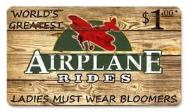"Great for Pilots and Hangar Vintage Metal Sign /""Hangar//Home/"" 14/"" X 8/"""