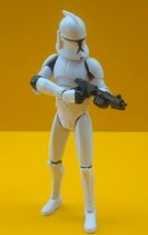 "STAR WARS ™ Clone Wars Clone Trooper 2008 3.75"" figure - $19.02"