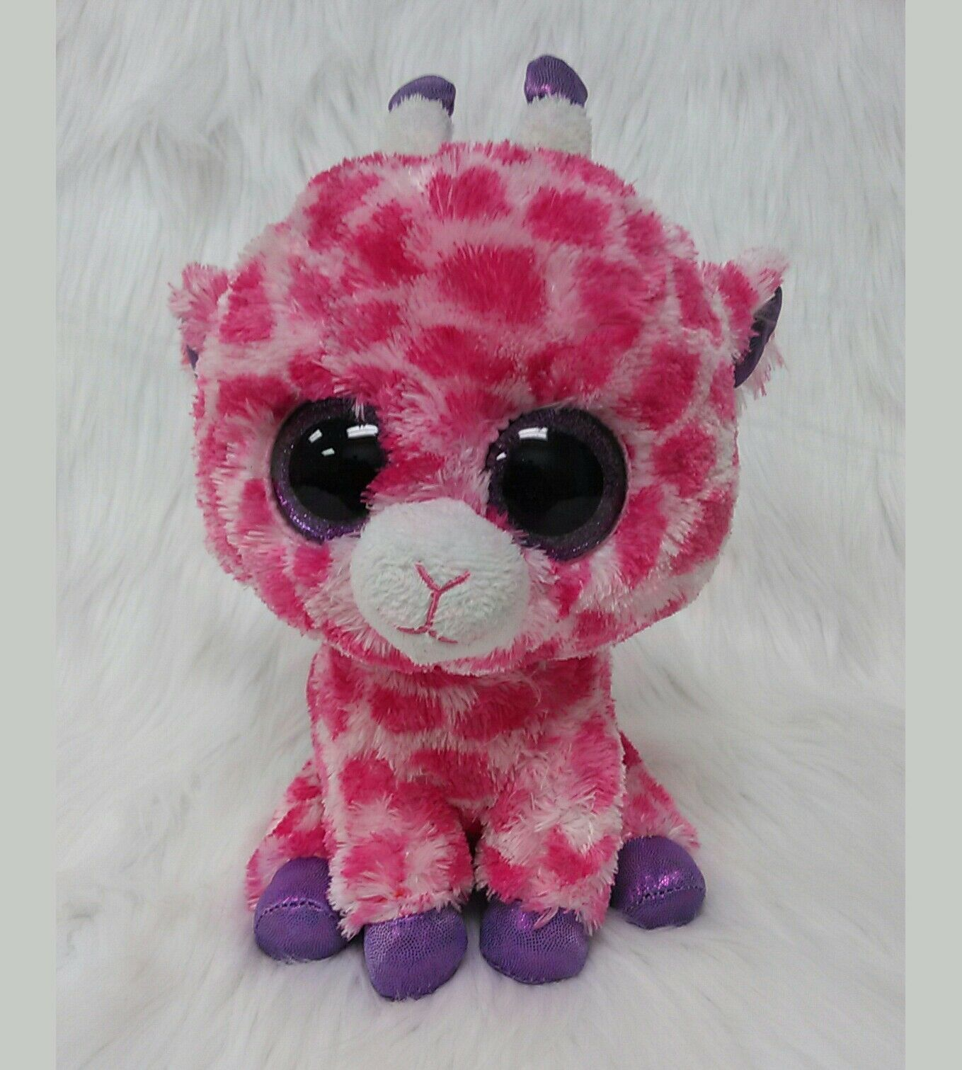 e40642d659c Ty Beanie Boo Twiggs Giraffe Pink Purple Big And 21 Similar Items
