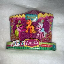 Lalaloopsy Ponies 3 Mini Pony Figures Carousel 1 Numbers 1, 2 & 3 New - $12.00