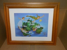 PETER PAN Lithograph Disney Store Commemorative Exclusive~ - $18.69