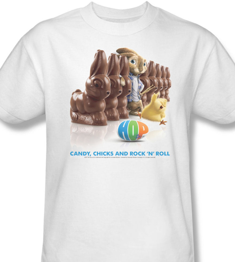 Uni350 at 2011 fantasy comedy movie hop candy  chicks   tee easter island animated e