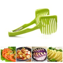 MIZHI 1Pcs Plastic Potato Slicer Tomato Onion Cutter - $15.95