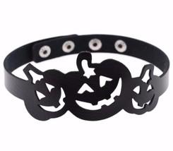 Choker, Halloween Kürbis Laterne Mode Kostümspiel Kragen-Halskette Druck... - $15.75