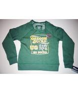 ProEdge Girls Oregon Ducks Go Ducks Green Sweater Sizes XS, S, M, L and ... - $11.04