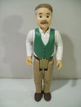 VINTAGE FISHER PRICE LOVING FAMILY DOLLHOUSE GRANDPA ACTION FIGURE 1994 ... - $19.55