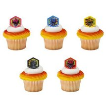 Power Rangers Morphinominal Cupcake Rings - 24 pc - $6.88