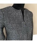 Eileen Fisher wool jacket SIZE XS FULL ZIP POCKETS EUC - $32.00