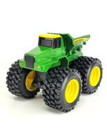 John Deere ERTL Big Monster Tires Dump Truck Farm Toy H0514WY00 Licensed... - $13.85